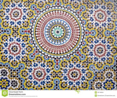 Marokkanische Fliesen Stockfoto Bild Von Schicht
