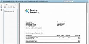 Zugferd Rechnung Beispiel : zugferd run my accounts lanciert e rechnung der zukunft ~ Themetempest.com Abrechnung