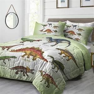 Arightex, 3, Piece, Kids, Bedding, Comforter, Set, Jurassic
