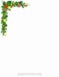 Christmas Corner Border: Clip Art, Page Border, and Vector ...