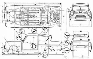 Ford Anglia 105e Blueprint
