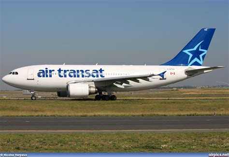 air transat login airpics net c gtsw airbus a310 300 air transat large size