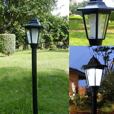 backyard solar lights auto outdoor garden led solar power path cited lights