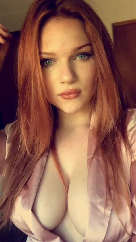 Sexy Redhead Wearing Button Down Collar Photos And Other