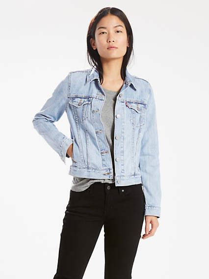 white levi jean jacket jean jackets shop 39 s denim jackets outerwear