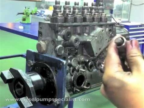 bosch inline pump disassembly part    youtube