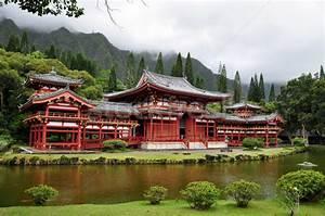 Japan Haus München : tempel japanisch tal hawaii japan haus stock ~ Lizthompson.info Haus und Dekorationen