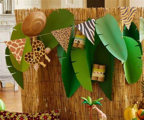 dekoration fuer die safari party famigros