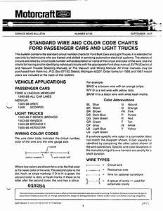 Standard Wire And Color Codes