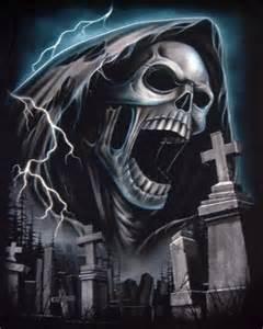 Grim Reaper Skull Tattoos