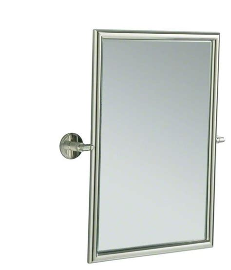 tilting bathroom mirror bronze kallista bronze vir stil by kirar tilting mirror