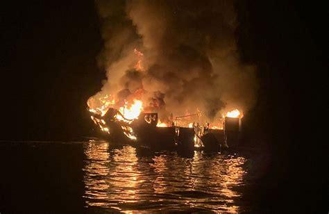 update  bodies   california dive boat fire