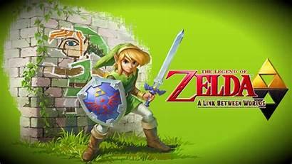 Zelda Worlds Link Between Legend Poster Deviantart