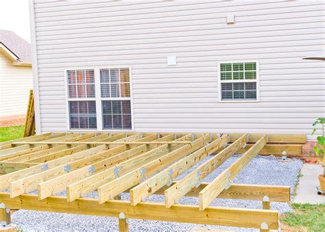 Building A Deck  Salem  Lynchburg Lexington