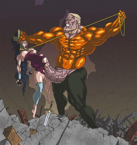 Aquaman Vs Wonder Woman By Mnogobatko Hentai Foundry