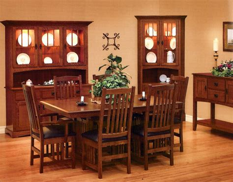mission style dining room set mission style dining furniture myideasbedroom com