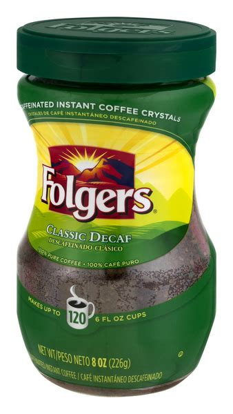 Green beans, stored properly are good for over a year. Folgers Classic Decaf Instant Coffee | Hy-Vee Aisles Online Grocery Shopping