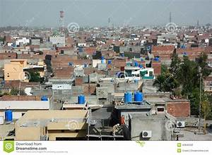 View Over Lahore, Big City In Pakistan Stock Photo - Image ...