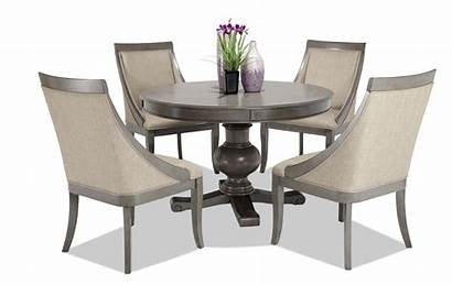 Dining Table Round Chairs Piece Gatsby Swoop