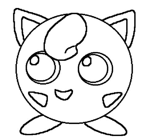 Jiggly Puff Kleurplaat by Jiggly Puff Colouring Pages Sketch Coloring Page