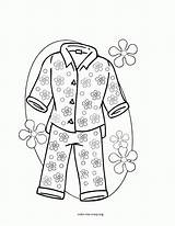 Pajama Coloring Pages Printable Sleepover Pajamas Llama Colouring Template Sheets Pj Sketch Masks Az Popular Clip Print Getdrawings Getcolorings Coloringhome sketch template