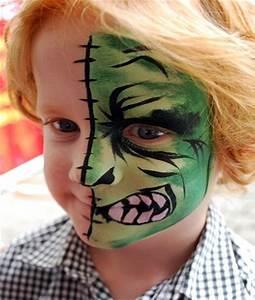 Maquillage Halloween Garcon : maquillage pour enfants au naturel c 39 est possible ~ Melissatoandfro.com Idées de Décoration