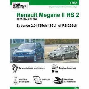 Revue Technique Megane 2 : revue technique renault m gane ii essence 2 0i et rs225 rta site officiel etai ~ Maxctalentgroup.com Avis de Voitures