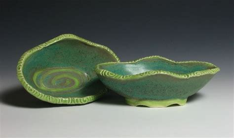 islesford pottery marian baker gms oval dishes 21