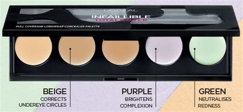L Oreal Infallible Total Cover Concealer Palette How To by Infallible Total Cover L Oreal Superdrug