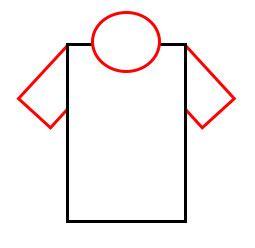 drawing cartoon  shirts