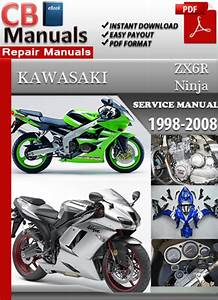 Factory Pdf Manuals  Kawasaki Zx6r Ninja 1998