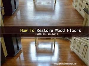 Woodfloors 021414 how to restore wood floors homemaking for How to rejuvenate wood floors