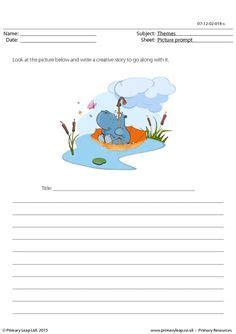creative writing printable worksheets images