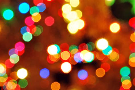Traditional Christmas Lights by Christmas Bokeh By Sublimebudd On Deviantart