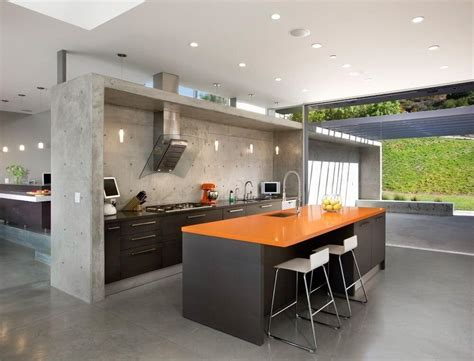 concrete kitchen floor ideas 60 ultra modern custom kitchen designs part 1 5671