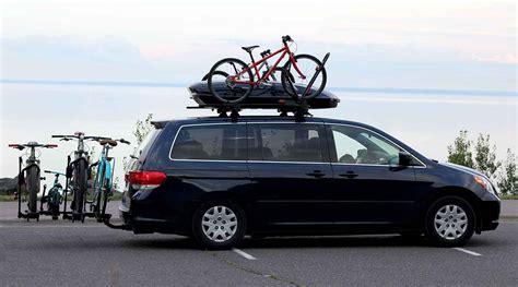 bike rack for minivan family hauler minivan modified for bikes gear