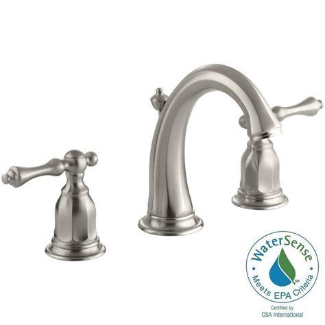 Kohler Kelston Faucet Home Depot by Kohler Kelston 8 In Widespread 2 Handle Low Arc Water