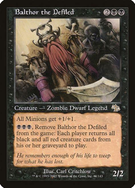 zombies mtg magic defiled gathering card resurrect