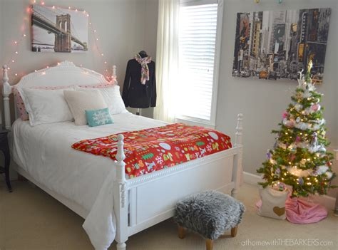 decorating for room tour at home with the barkers
