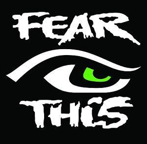 seattle seahawks  man fear  eye vinyl decals