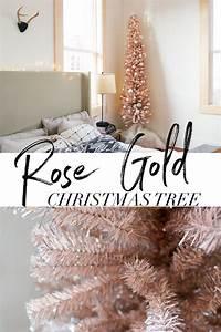 Rose Gold Decor : rose gold christmas tree samantha hauger ~ Teatrodelosmanantiales.com Idées de Décoration
