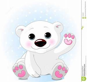 Cute Polar Bear Clipart - Clipart Suggest