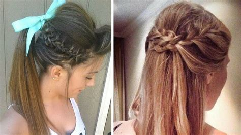 quick heatless everyday hairstyles simple and easy