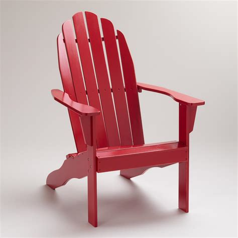formula one classic adirondack chair world market
