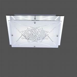 Led Deckenleuchte Kristall : kristall led deckenleuchte wada wohnlicht ~ Orissabook.com Haus und Dekorationen