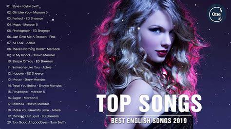 Best English Songs Playlist 2019