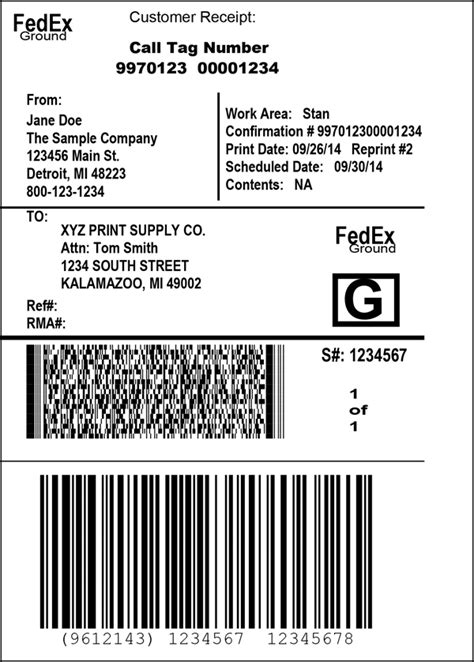 Package Return Services - Return Shipping Labels | FedEx