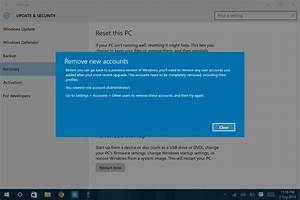 administrator account prevents me from reverting windows With windows 8 upgrade most users saying no