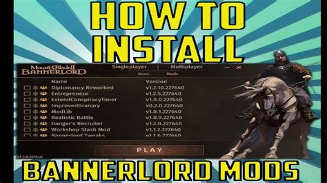bannerlord mods