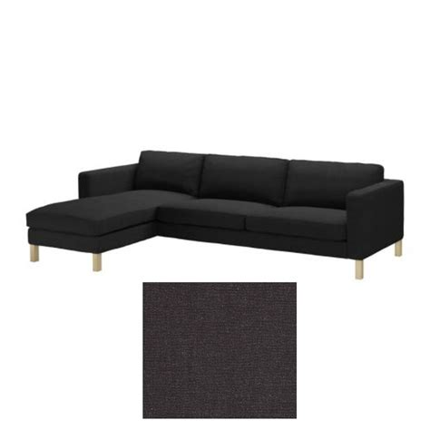 ikea chaise lounge cover ikea karlstad 3 seat sofa and chaise slipcover cover sivik